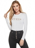 GUESS top Lottie Crystal Logo Top