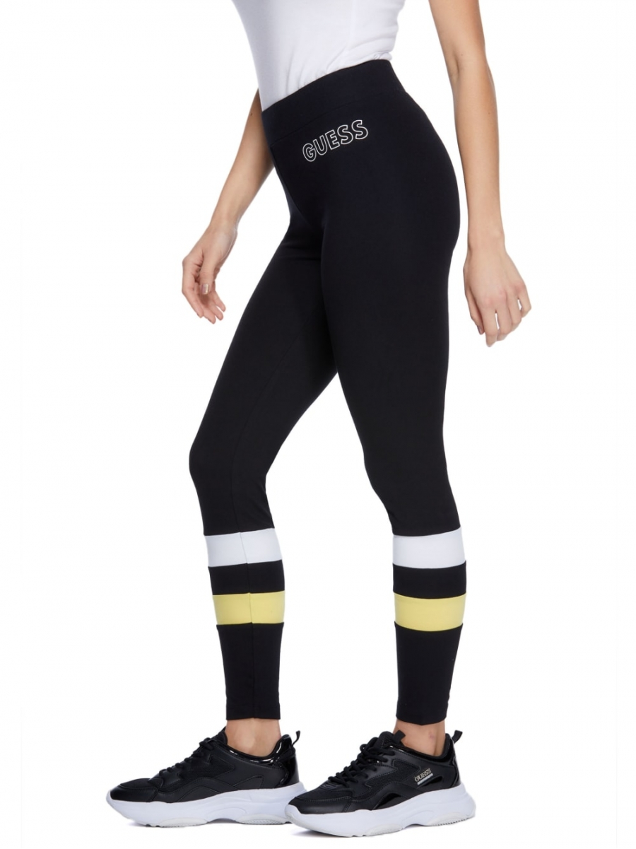 GUESS legíny Austen Logo Leggings