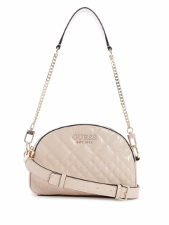 GUESS kabelka Queenie Quilted Mini Crossbody